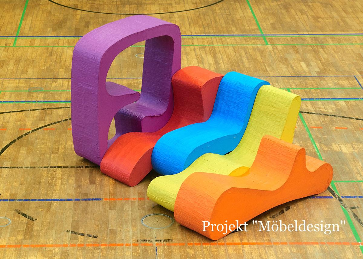 Möbeldesign in der Werbellinsee Grundschule